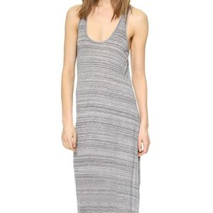 Vince Gray Racer Back Maxi Dress